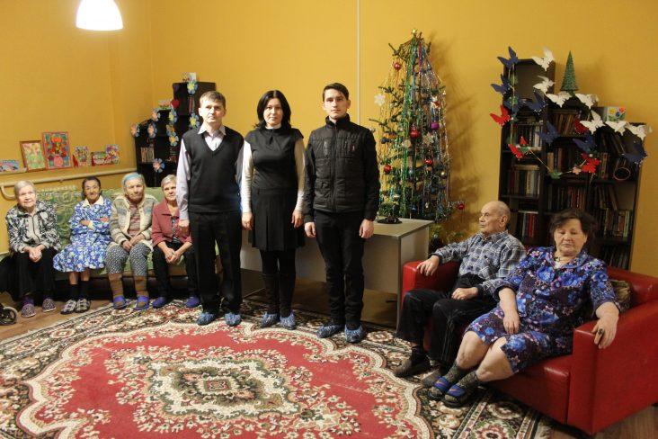 Рождественский киносеанс в «Моей семье»