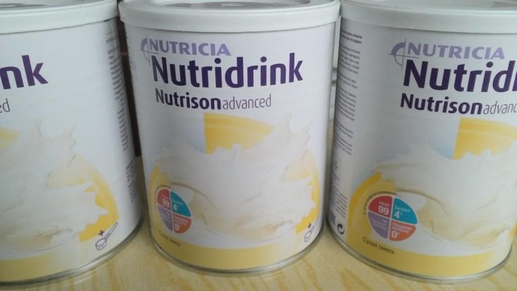 Nutricia Nutridrink Nutrison Advanced